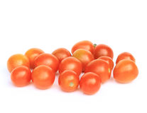 Tomatoes isolate. On white background Stock Photos