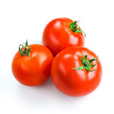 Tomatoes isolated on white Royalty Free Stock Images