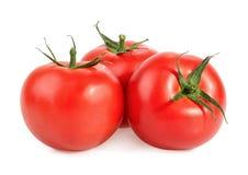 Tomatoes isolated on white Stock Photo