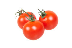 Tomatoes, isolated on white Royalty Free Stock Photography