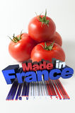 Tomatoes made in France Stock Photo