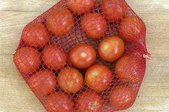 Tomatoes at the market Stock Photography