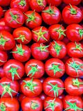 Tomatoes on the market Royalty Free Stock Images