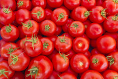 Tomatoes on market Stock Photo