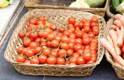 Tomatoes at market Royalty Free Stock Photography