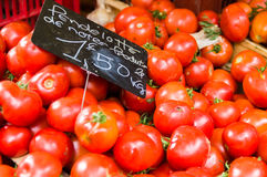 Tomatoes on market in Provence. Red Tomatoes on market in Provence, France Stock Image