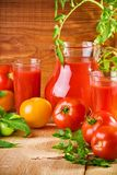 Tomatoes Nutrition Stock Images