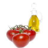 Tomatoes and oil Royalty Free Stock Photography