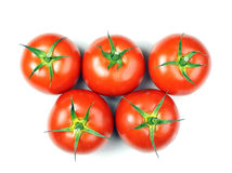 Tomatoes olimpic Royalty Free Stock Images
