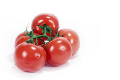 Tomatoes On Vine Stock Photos
