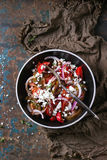 Tomatoes and onion salad Royalty Free Stock Photo