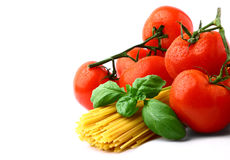 Tomatoes with pasta Royalty Free Stock Photography