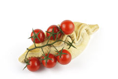Tomatoes and Pasty Stock Photo
