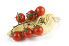 Tomatoes and Pasty Royalty Free Stock Images