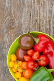 Tomatoes and pepper Stock Image