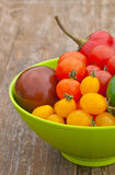 Tomatoes and pepper Royalty Free Stock Photos