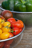 Tomatoes and pepper Royalty Free Stock Images