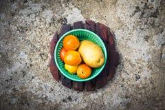 Tomatoes and potato Royalty Free Stock Photo
