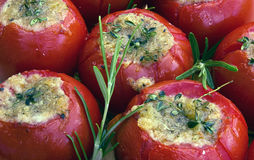 Tomatoes in provencal style Royalty Free Stock Photos