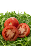 Tomatoes and rocket Royalty Free Stock Photo