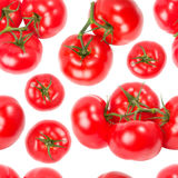 Tomatoes seamless wallpaper Stock Photography