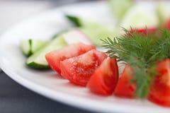 Tomatoes slice Stock Photo
