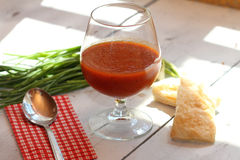 Tomatoes soup Royalty Free Stock Photo
