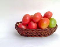 Tomatoes sour red palatable. Tomatoes, sour rich in benefit royalty free stock image