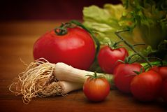 Tomatoes still life Stock Photos