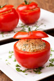 Tomatoes stuffed Stock Photography