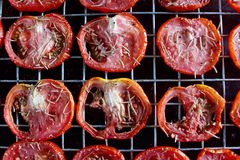 Tomatoes sun dried Stock Photography