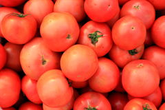 Tomatoes in a  supermarket Royalty Free Stock Images