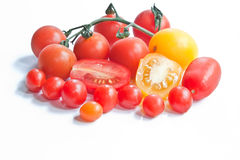 Tomatoes & Tomberries Royalty Free Stock Images