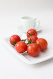 Tomatoes and Water Royalty Free Stock Photo