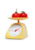 Tomatoes Weighing Stock Photography