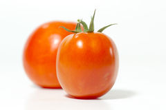 Tomatoes on white background, closeup, Stock Photos