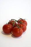 Tomatos. Fresh cherry tomatos stock photo