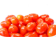 tomatos. With water drop on it Royalty Free Stock Photo