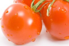 Tomatos. Healthy eating - vegetables - close up Stock Images