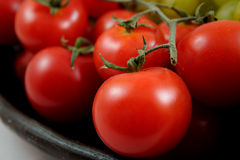 Tomatos in bunch Royalty Free Stock Photo