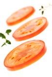 Tomatskivor Royaltyfri Bild