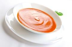 Tomatsoup arkivbild