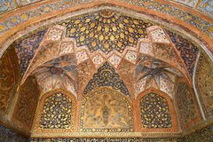 The Tomb of Akbar. The Great is an important Mughal architectural masterpiece in Sikandra Stock Images
