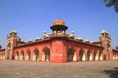 The Tomb of Akbar Royalty Free Stock Photography