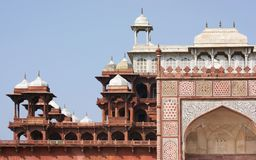 Tomb of Akbar the Great Stock Images