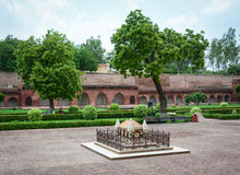 Tomb of Akbar the Great at Agra Fort in India Royalty Free Stock Photo