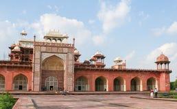 Tomb of Akbar the Great in Agra, Uttar Pradesh, India Stock Photo