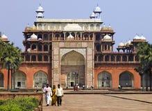 Tomb of Akbar - Sikandra - Agra - India stock photo