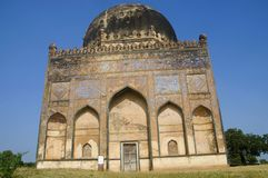 Tomb of Alauddin Ahmad II, Ashtur, Karnataka state of India stock photo