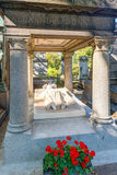 Tomb of the Alexander Dumas in the Montmartre Stock Photos